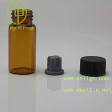 Screw Cap Sealing Type 10ml glass clear glass vial, tube glass bottles