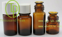 TP-2-36-7 15ml/20ml/30ml amber essential oil glass vials with bakelite cap