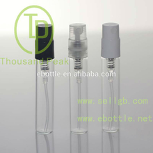 TP-3-04-3 3ml perfume bottle with plastic cap and sprayer